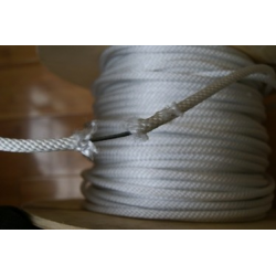 Rope, with wire, by the Foot