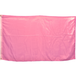 Solid Color 3'x5' Polyester Flag, Pink
