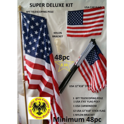 Super Deluxe Flag Kit Promotion