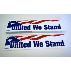 USA United We Stand Bumper Sticker