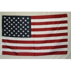 "USA 12""x18"" Polyester Stick Flag"