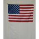 "USA 12""x18"" Wooden Stick Flag with Ball Top"