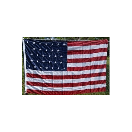 USA 31 Star (1851) 5'x8' Nylon 300D Embroidered Flag