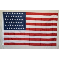 USA 46 Star (1908-1912) 3'x5' Polyester Flag