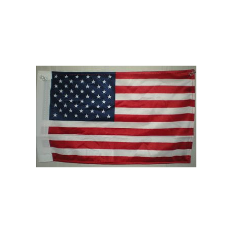 "USA 6""x9"" Knit Nylon Flag with Sleeve"