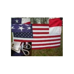 USA 8'x12' 2 Ply 600D Embroidered Flag