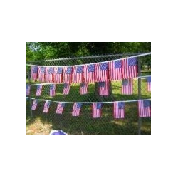 "USA 24 12""x18"" Flag String Bunting"