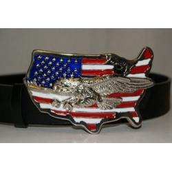 USA Eagle Belt Buckle