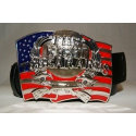 "USA ""Right to bear Arms"" Belt Buckle"