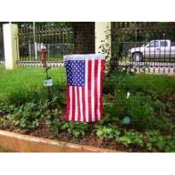 "USA 12""x18"" Knitt Nylon Garden Flag"