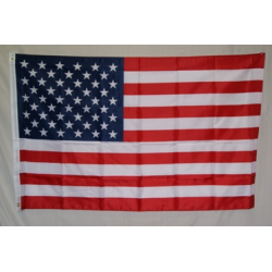 USA 3'x5' Nylon Printed Flag