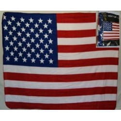 "USA Polar Fleece Blanket 50""x60"""