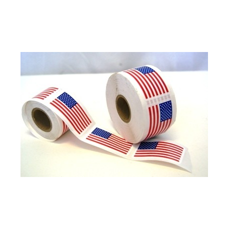 USA Roll of Stickers
