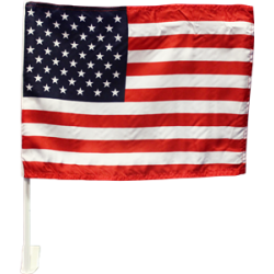 USA Polyester Car Flag