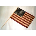 "USA Vintage 12""x18"" Stick Flag"