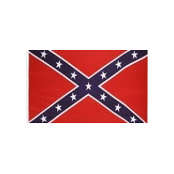 Rebel 4'x6' Polyester Flag