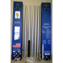 20' Sectional Flagpole Kit