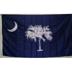 South Carolina Blue 3'x5' Polyester Flag