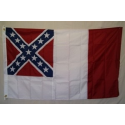 3rd National 3'x5' Nylon 300d Embroidered Flag
