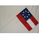"1st National 7 Stars 12""x18"" Stick Polyester Flag"