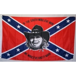 Rebel Hank Williams 3'x5' Polyester Flag