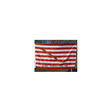 First Navy Jack 3'x5' Polyester Flag