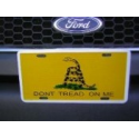 "Gadsden ""Don't Tread On Me"" License Plates"