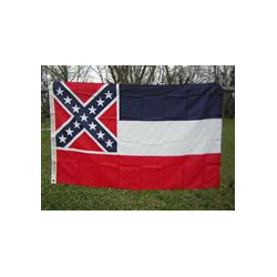 Mississippi 3'x5' Nylon Printed Flag