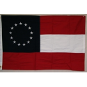 1st National 13 Stars (circle) 3'x5' Cotton Embroidered Flag