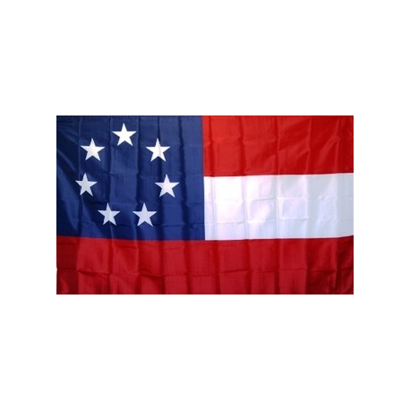 1st National 7 Stars 2'x3' Poly Flag