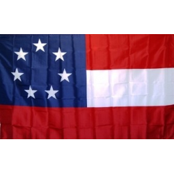 1st National 7 Stars 3'x5' Polyester Flag