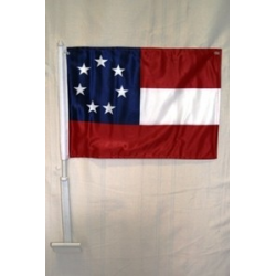 1st National 7 Stars Double Sided Car Flag