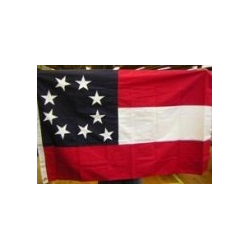1st National 9 Stars 3'x5' Cotton Flag