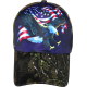 Eagle and Flag Camo Cap