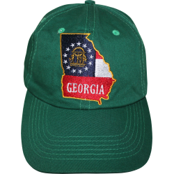 GA Map- Green Washed Cap