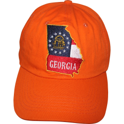 GA Map- Orange Washed Cap
