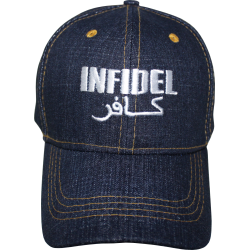 Infidel Blue Jean Denim Cap