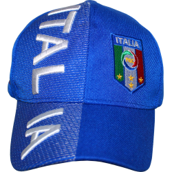 Italy Rough Tex Italia- Blue 3-D Cap