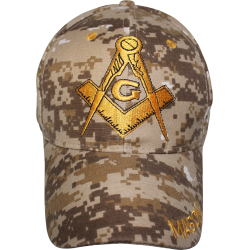 Masonic- Desert Digital Cap