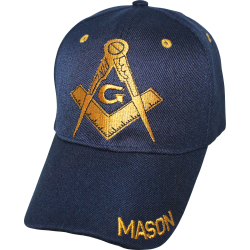 Masonic- Blue/Navy Blue Cap