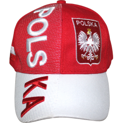 Poland Rough Tex 3-D Design Cap
