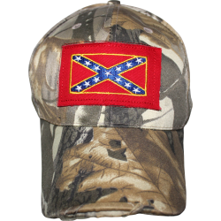 Rebel Patch Tree Camo Cap