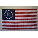 Betsy Ross III (3% / Nyberg) 3'x5' Polyester Flag