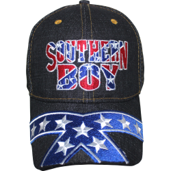 Southern Boy Rebel- Blue Jean