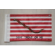 "1st Navy Jack 6""x9"" Knit Nylon Sleeve Flag"