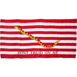 "1st Navy Jack Beach Towel 30""x60"""