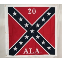 "CS 20th ALA Battle 51""x51"" Cotton Flag"