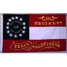 20th Regiment Texas 3'x5' 2ply 600D Embroidered Flag