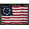 Betsy Ross Woven Throw Blanket 4'x6'