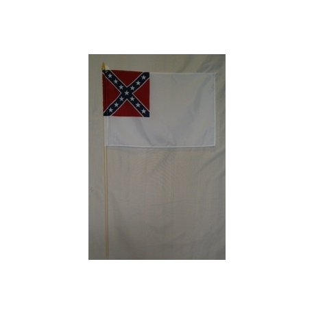 "2nd National CSA 12""x18"" Polyester Stick"
